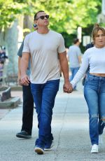 JENNIFER LOPEZ and Alex Rodriguez Out in New York 06/26/2017