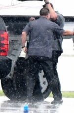 JENNIFER LOPEZ Boarding a Private Jet in Miami 06/07/2017