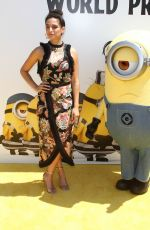 JENNY SLATE at Despicable Me 3 Premiere in Los Angeles 06/24/2017