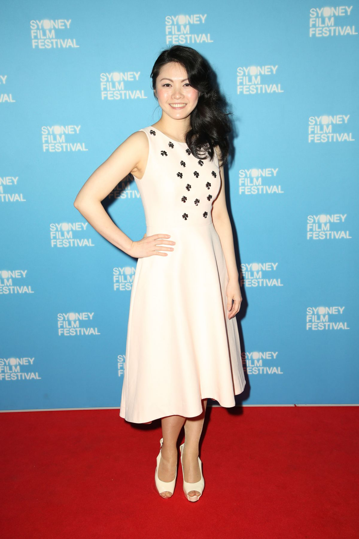 JENNY WU at Australia Day Premiere at 64th Sydney Film Festival 06/12/2017
