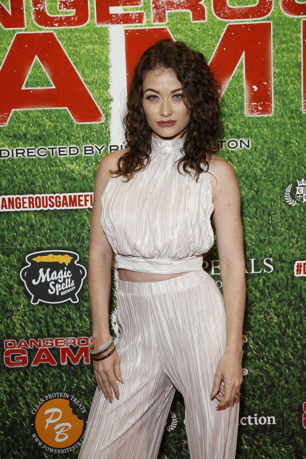 JESS IMPIAZZI at Dangerous Game Premiere in London 06/15/2017