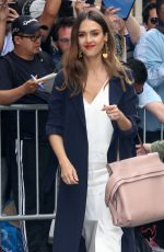 JESSICA ALBA Arrives at The View in New York 06/15/2017