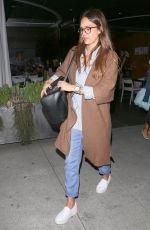 JESSICA ALBA Leaves Katsuya Restaurant in Hollywood 06/07/2017