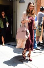 JESSICA ALBA Leaves The View in New York 06/15/2017
