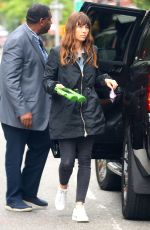 JESSICA BIEL and Justin Timberlake Arrives at Theitr Home in New York 05/29/2017