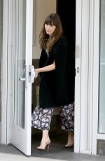 JESSICA BIEL Leaves Her Apartment - in New York 06/06/2017