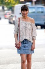 JESSICA BIEL on the Set of The Sinner in New York 06/13/2017