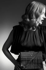 JESSICA CHASTAIN for Prada Fall/Winter 2017 Campaign