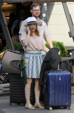 JESSICA CHASTAIN Out in Milan 05/31/2017