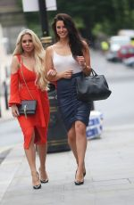 JESSICA CUNNINGHAM and BIANCA GASCOIGNE Out in London 06/24/2017
