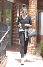 JESSICA GOMES Leaves a Gym in Beverly Hills 06/01/2017