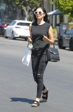 JESSICA GOMES Out and About in Beverly Hills 06/16/2017