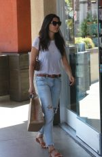 JESSICA GOMES Out for Breakfast in West Hollywood 06/26/2017