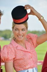 JESSICA HART at Cartier Queen's Cup Polo Final in Surrey 06/18/2017