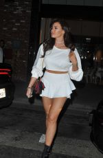 JESSICA WRIGHT at Beauty and Essex in Los Angeles 06/10/2017