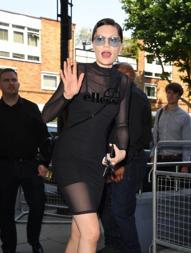 JESSIE J Arrives at Sarm Studios in London 06/19/2017