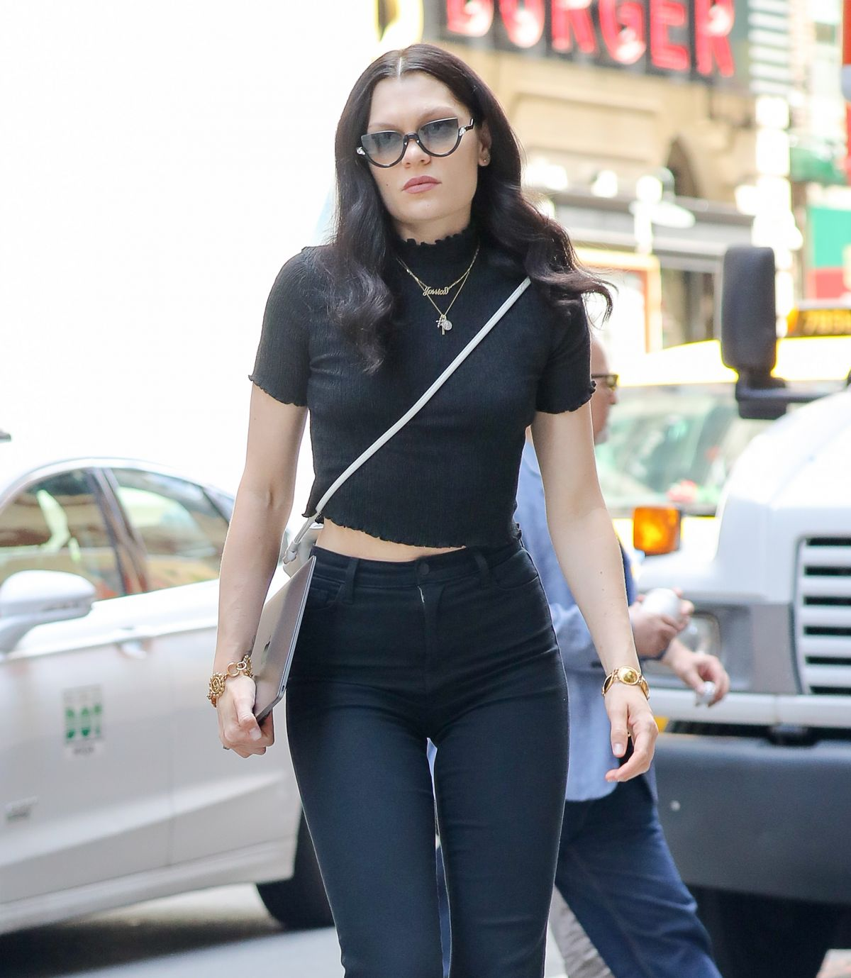 JESSIE J Out and About in New York 06/28/2017 - HawtCelebs