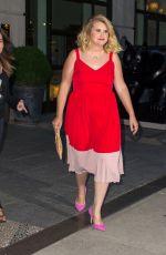 JILLIAN BELL Leaves Her Hotel in New York 06/09/2017