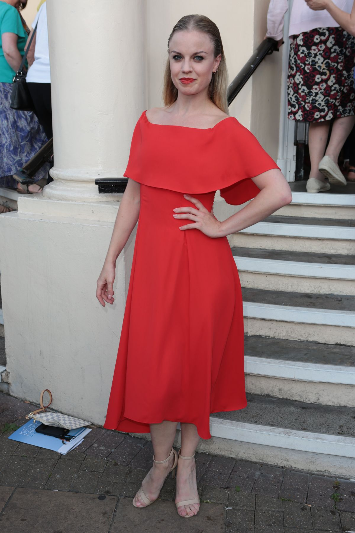 JOANNE CLIFTON Arrives at New Wimbledon Theatre in London 06/17/2017