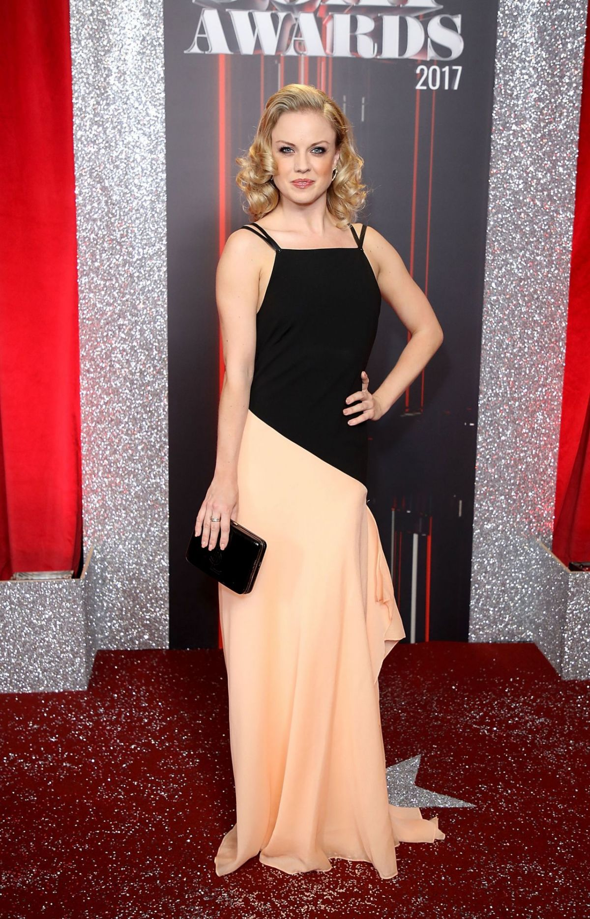 JOANNE CLIFTON at British Soap Awards in Manchester 06/03/2017