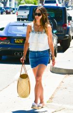 JORDANA BREWSTER Out and About in Santa Monica 06/27/2017