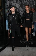 JOSEPHINE SKRIVER Arrives at Catch LA in West Hollywood 06/17/2017