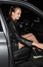 JOSEPHINE SKRIVER Leaves Catch LA in West Hollywood 06/16/2017