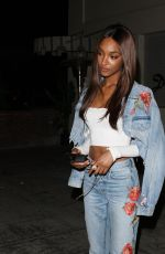 JOURDAN DUNN Out and About in West Hollywood 06/15/2017