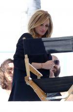 JULIA ROBERTS on the Set of a Photoshoot in Malibu 06/13/2017