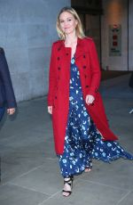 JULIA STILES Leaves The One Show in London 06/12/2017
