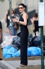 JULIANNA MARGUILES Leaves Her Apartment in New York 06/13/2017