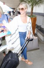 JULIANNE HOUGH at Los Angeles International Airport 06/21/2017