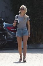 JULIANNE HOUGH in Denim Shorts Out in Los Angeles 06/23/2017