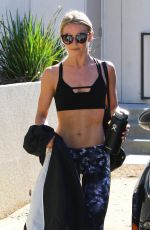 JULIANNE HOUGH in Tights Heading to a Gym in Los Angeles 06/27/2017