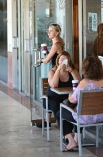 JULIANNE HOUGH Out for Coffee after a Workout in Los Angeles 06/26/2017