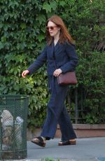 JULIANNE MOORE Out in New York 06/02/2017