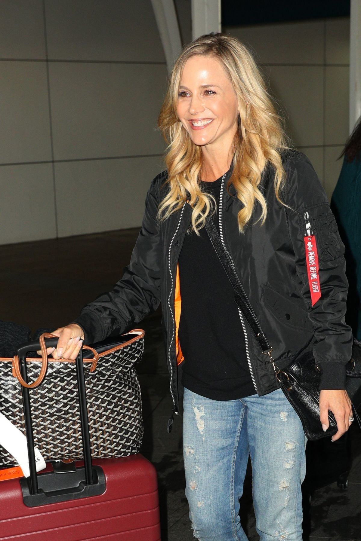JULIE BENZ at Airport in Sydney 06/15/2017