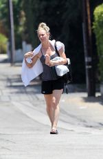 KALEY CUOCO Leaves Core Power Yoga Class in Los Angeles 06/04/2017