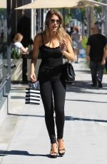 KARA DEL TORO Out Shopping in Beverly Hills 06/26/2017