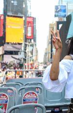 KARA MCCULLOUGH on a Tour Bus in New York 06/13/2017