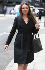 KAREN DANCZUK Out and About in London 06/07/2017