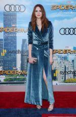 KAREN GILLAN at Spiderman: Homecoming Premiere in Los Angeles 06/28/2017