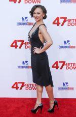 KARINA SMIRNOFF at 47 Meters Down Premiere in Los Angeles 06/12/2017