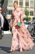 KARLIE KLOSS Arrives at 2017 Fragrance Foundation Awards in New York 06/14/2017