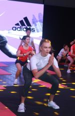 KARLIE KLOSS at Adidas Republic of Sports Event at Taipingqiao Park in Shanghai 06/23/2017\