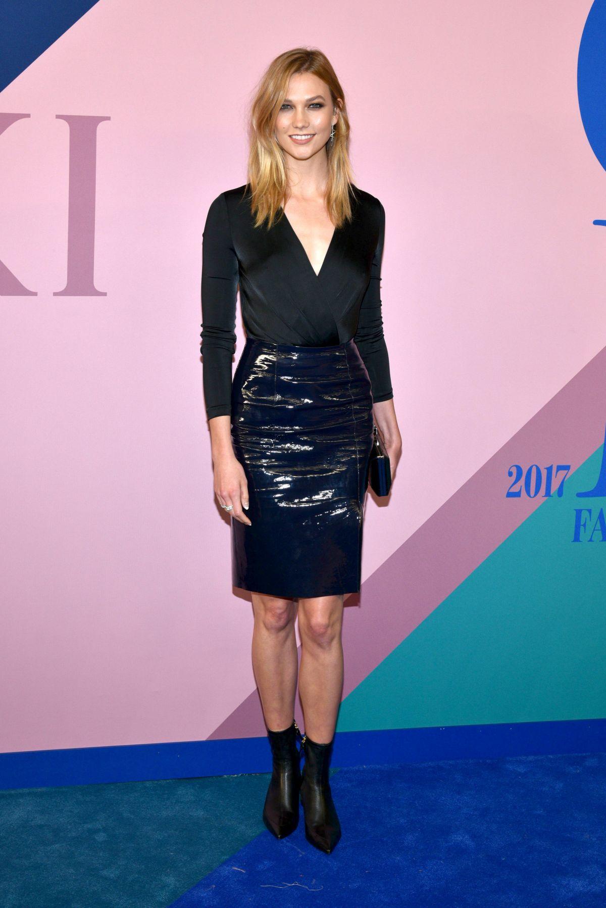 KARLIE KLOSS at CFDA Fashion Awards in New York 06/05/2017