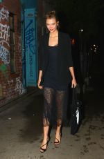 KARLIE KLOSS Leaves a Party in New York 06/06/2017
