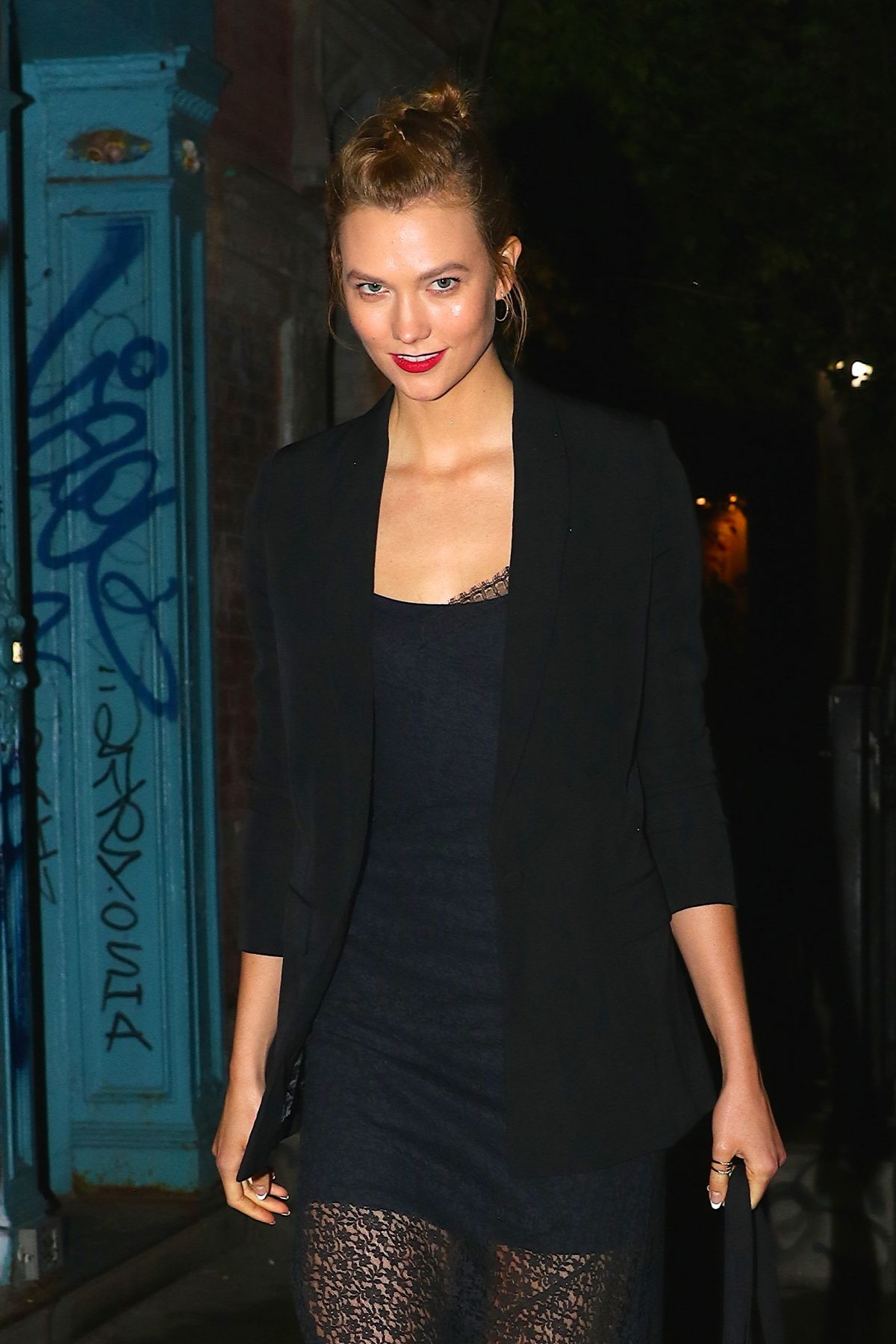 KARLIE KLOSS Night Out in New York 06/06/2017