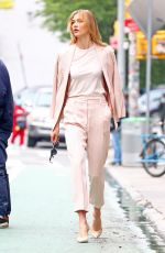 KARLIE KLOSS Out and About in New York 06/05/2017