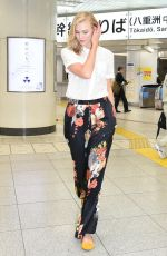 KARLIE KLOSS Out and About in Tokyo 06/27/2017
